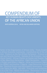2016 compendium key human rigths documents african union